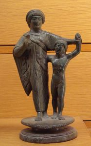 ETRUSCAN MOTHER AND CHILD